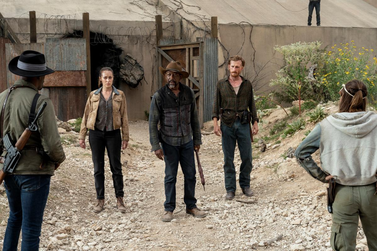 La Temporada 6 De Fear The Walking Dead Tiene Fecha De Regreso En Amc España Fuera De Series