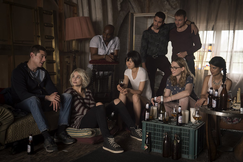 La gran familia de 'Sense8'