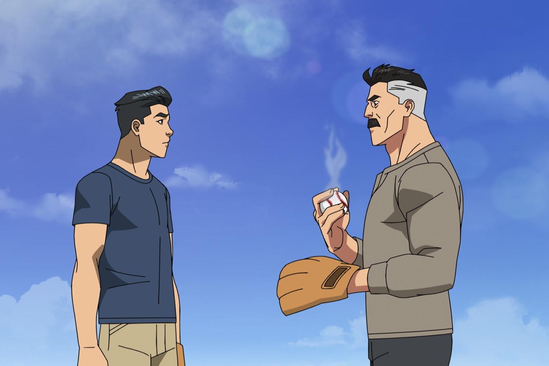 Mark y Omni-Man