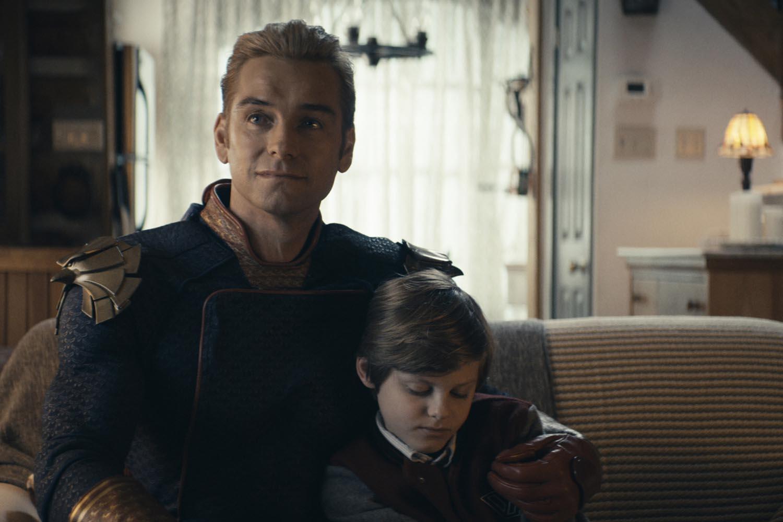 Homelander y su hijo de superhéroe traumatizado